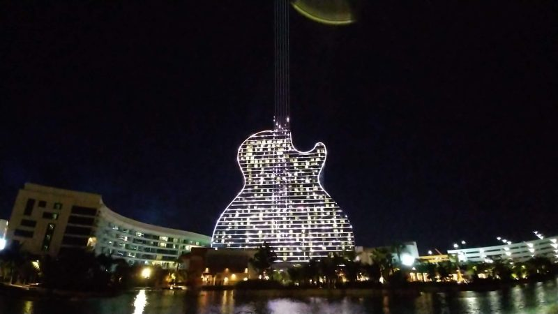 Primeiro hotel de Guitarra do Mundo – Hard Rock