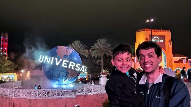 Passeio a noite na CityWalk Universal na Flórida