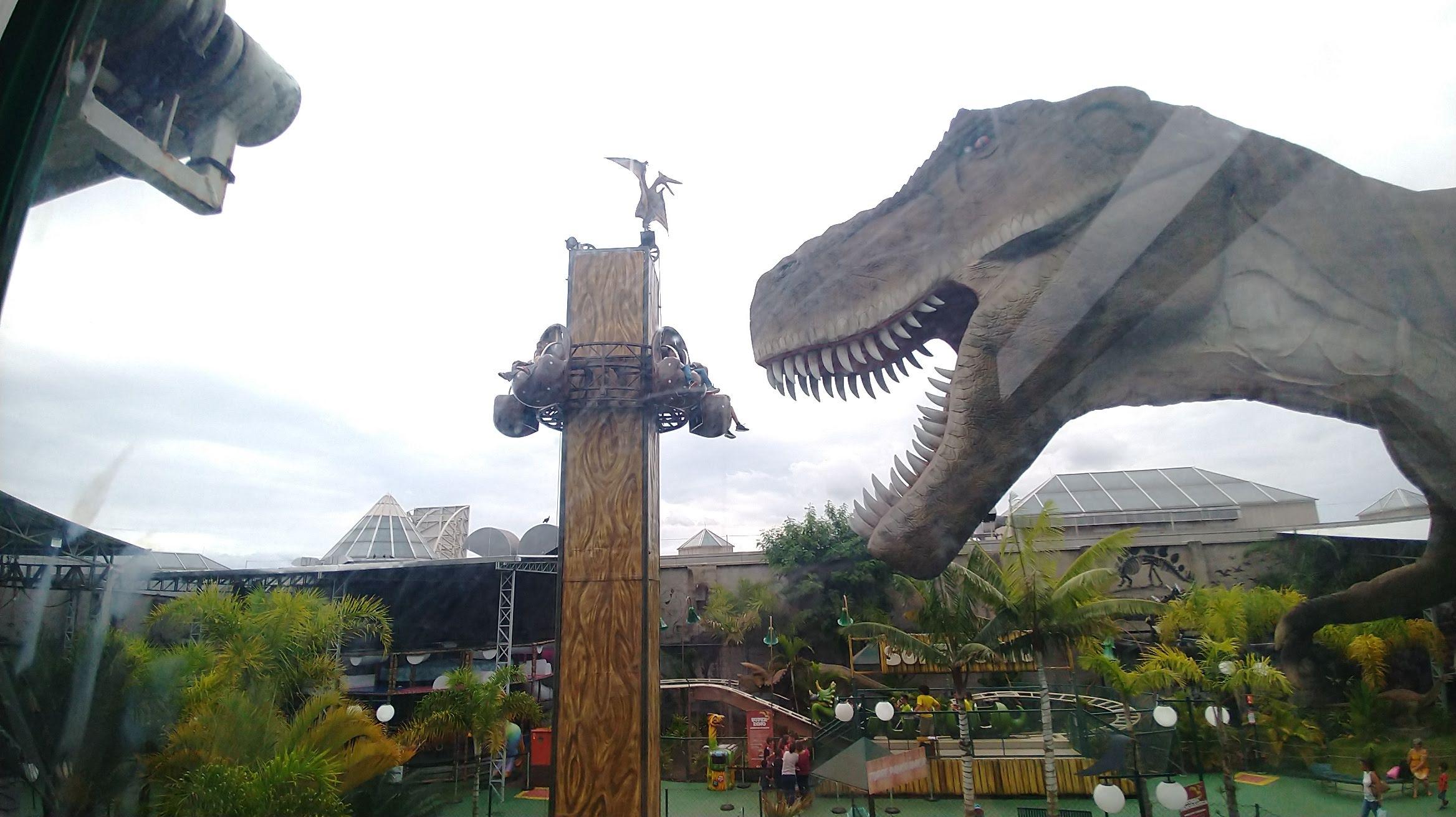 Opção para férias: T-Rex Park em Campinas/SP