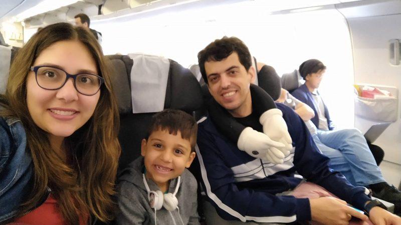 Dúvidas sobre voar com crianças?